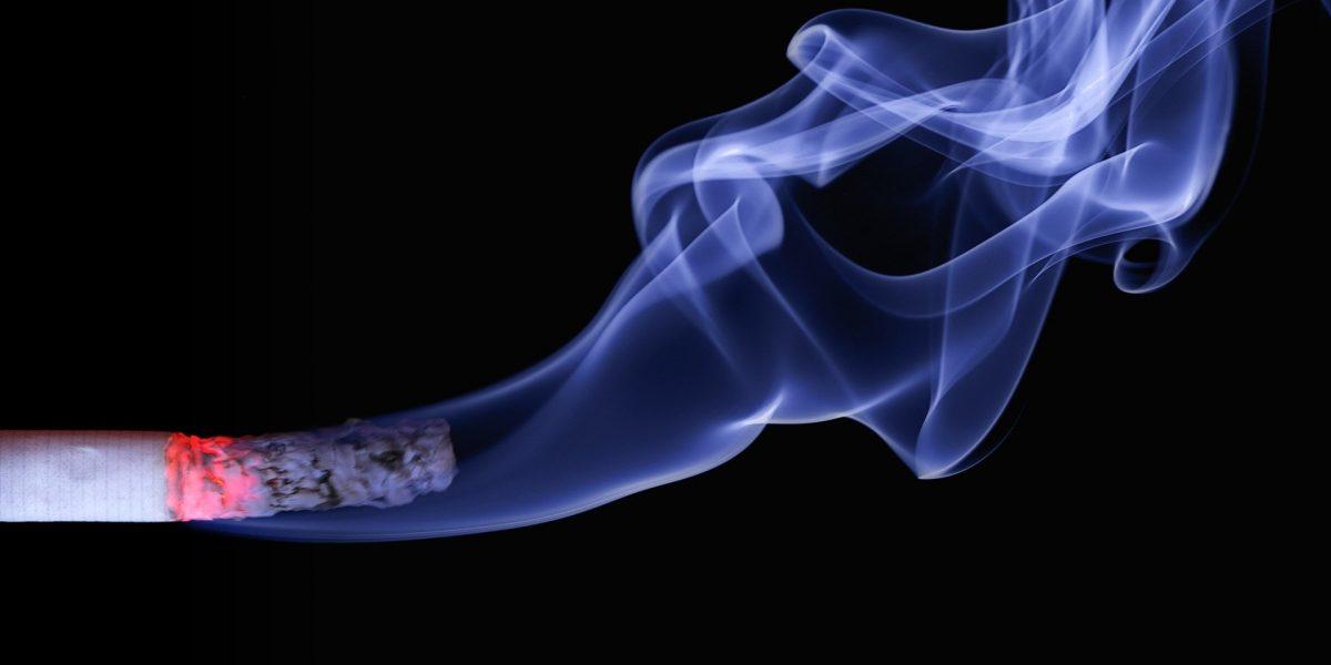 HFE Cigarette with smoke